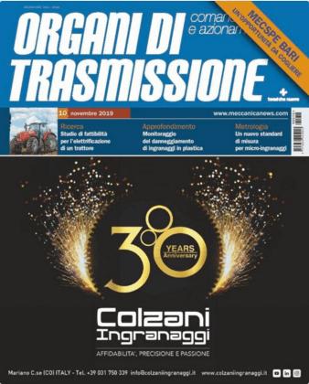 Organi di Trasmissione – Novembre 2019