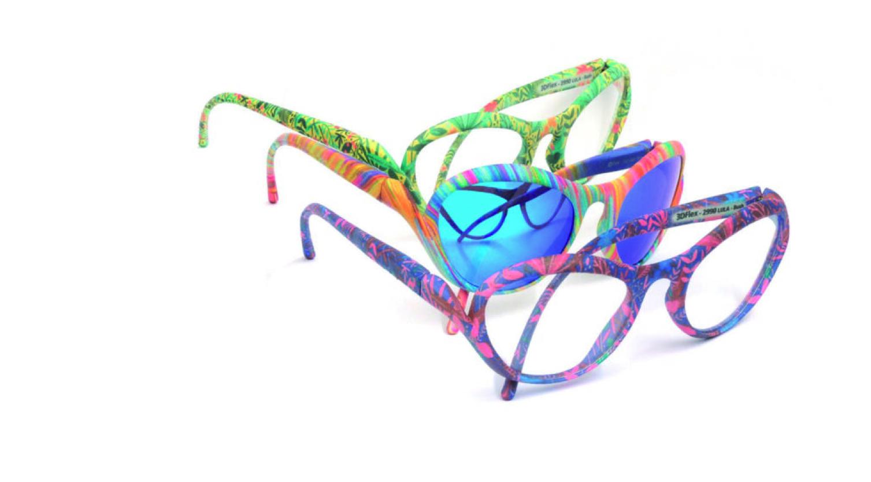 La finitura superficiale che esalta gli occhiali stampati in 3D